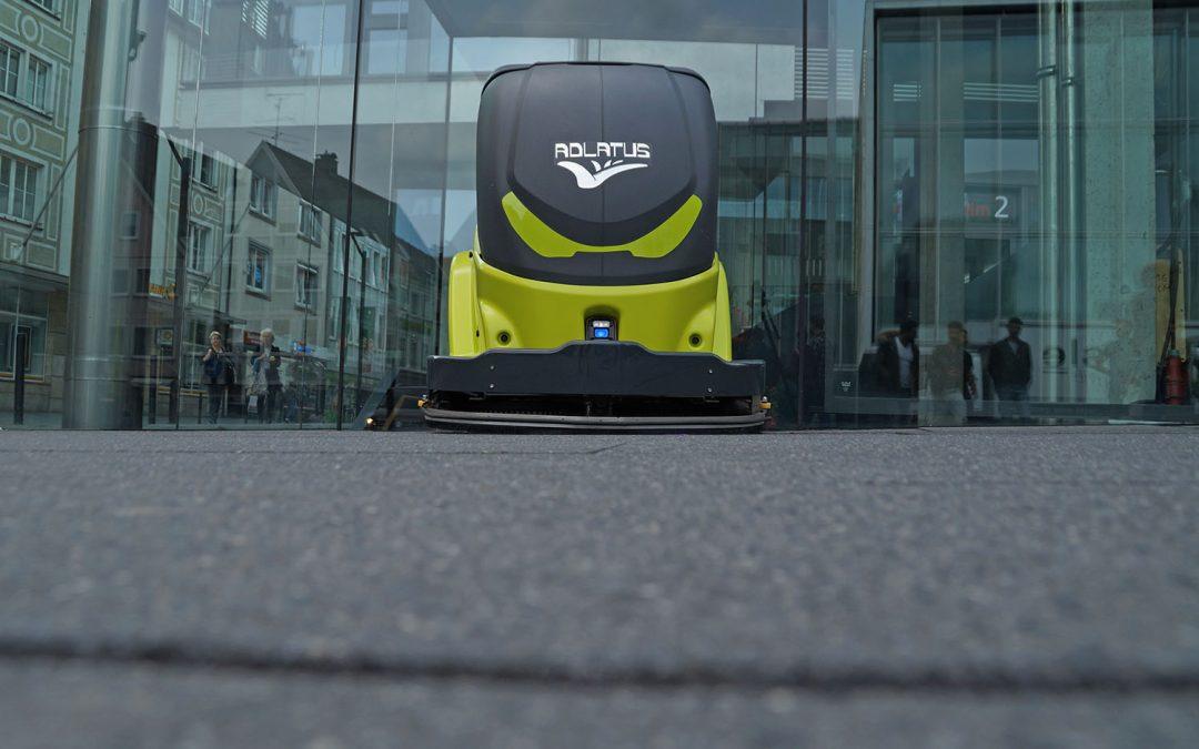 Adlatus Robotics Messefilm