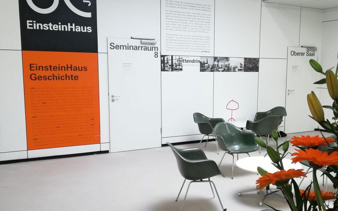 Bachelorarbeit: Ein Kubus entsteht – Ausstellungskonzept
