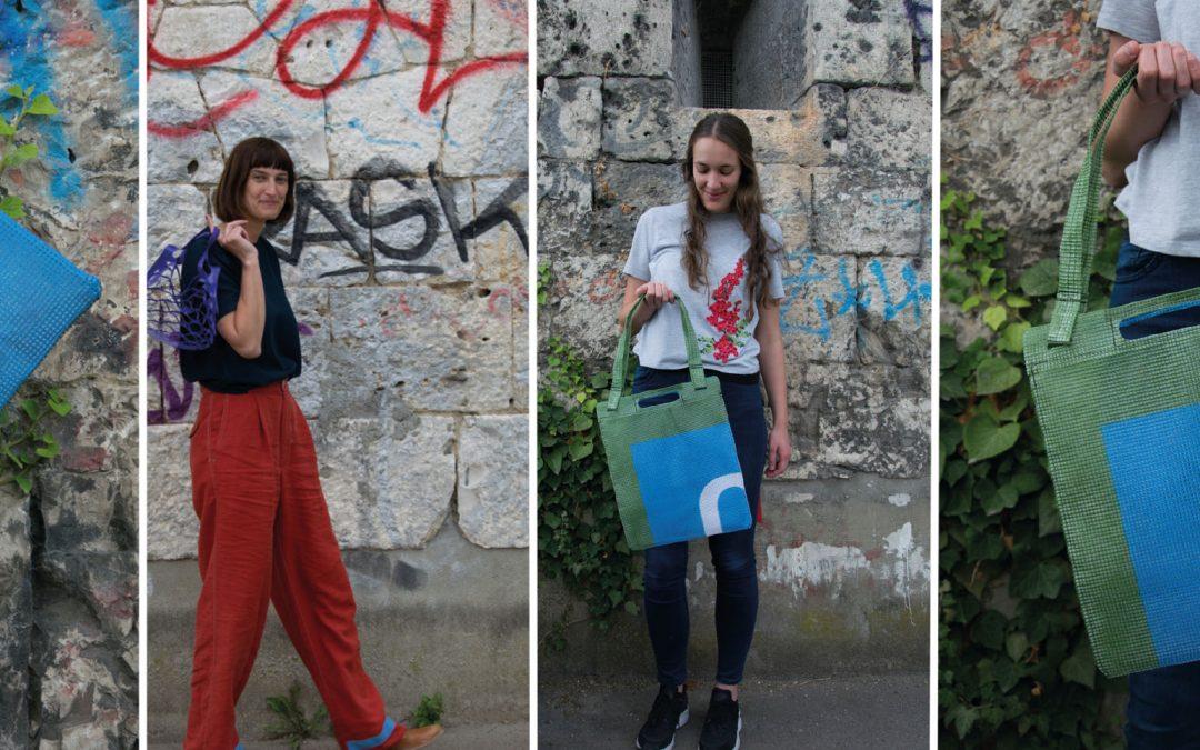 Upcycling Taschen für das Obstwiesenfestival