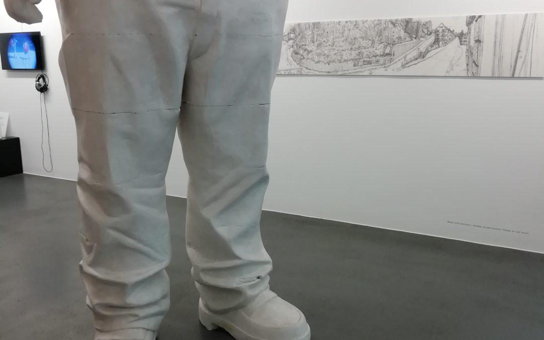 Leider schon vorbei: Christoph Fischer im  Cartoonmuseum Basel